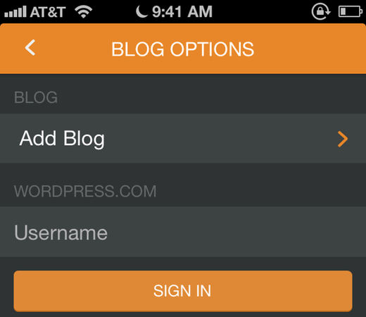 Pressgram dodavanje wordpress bloga