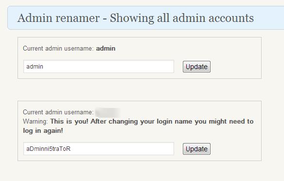 01 Admin renamer extended