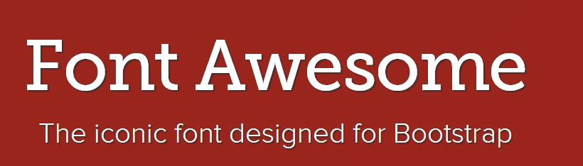 Font Awesome logotip