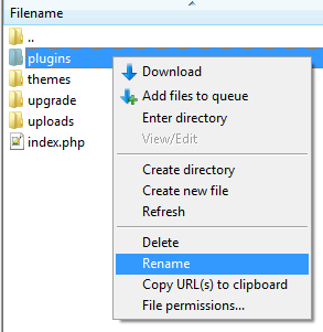 FTP_rename_plugins_folder
