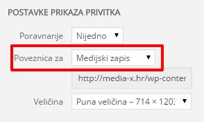 Uredi objavu ‹ Media X — WordPress